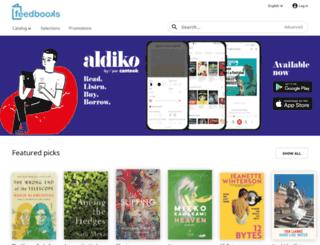 it.feedbooks.com screenshot
