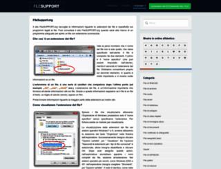 it.filesupport.org screenshot