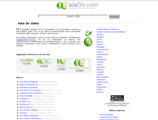 it.gaiadir.com screenshot
