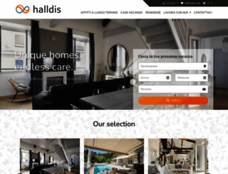 it.halldis.com screenshot