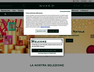 it.nuxe.com screenshot