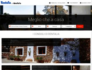 it.rentalia.com screenshot