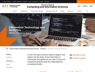 it.rit.edu screenshot