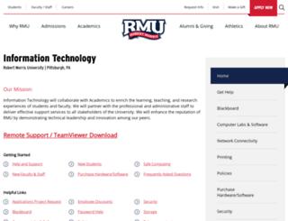 it.rmu.edu screenshot