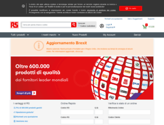 it.rs-online.com screenshot
