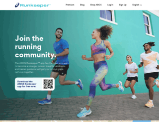 it.runkeeper.com screenshot