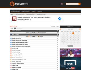 it.scoresway.com screenshot