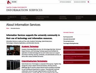 it.scu.edu screenshot