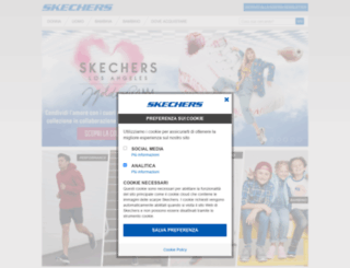 it.skechers.com screenshot