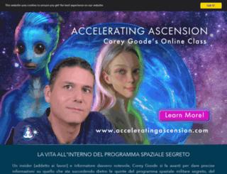 it.spherebeingalliance.com screenshot