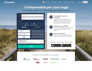 it.thetrainline-europe.com screenshot