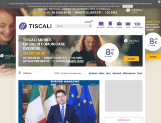 it.tiscali.com screenshot