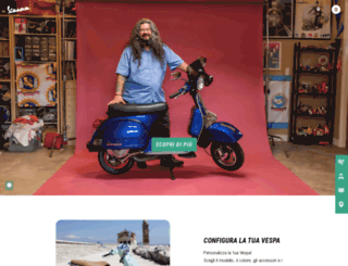 it.vespa.com screenshot