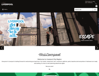 it.visitliverpool.com screenshot