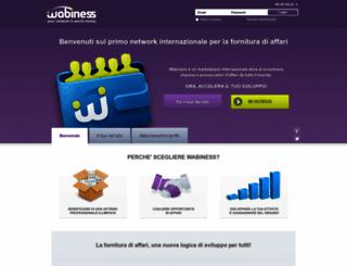 it.wabiness.com screenshot