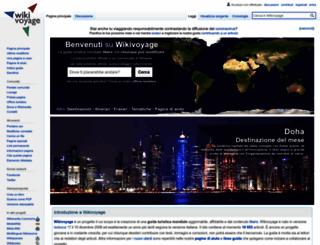 it.wikivoyage.org screenshot