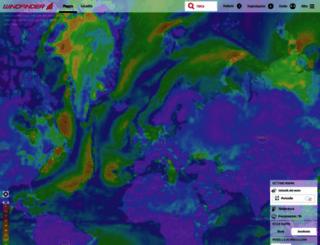 it.windfinder.com screenshot