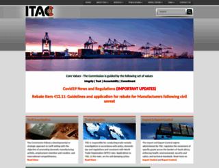itac.org.za screenshot