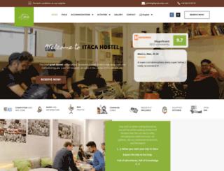 itacahostel.com screenshot
