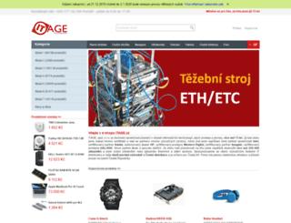 itage.cz screenshot