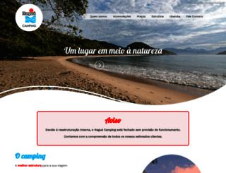 itaguacamping.com.br screenshot