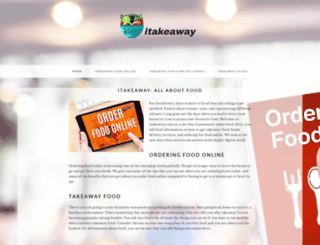 itakeaway.com.au screenshot