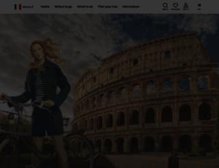 italia.it screenshot