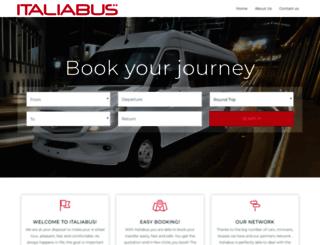 italiabus.it screenshot
