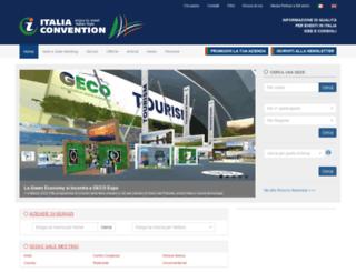 italiaconvention.it screenshot