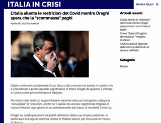 italiaincrisi.it screenshot