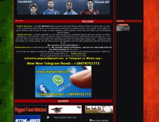 italian-bet.com screenshot