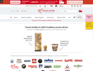 italian-coffee.biz screenshot