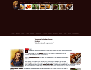 italian-dessert-recipes.com screenshot