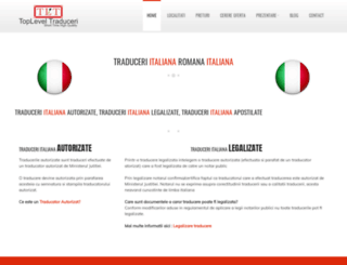 italiana.toplevel-traduceri.ro screenshot