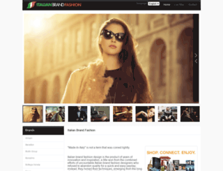 italianbrandfashion.com screenshot