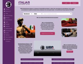 italianbusinessguide.com screenshot