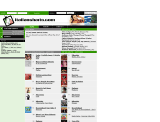 italiancharts.com screenshot