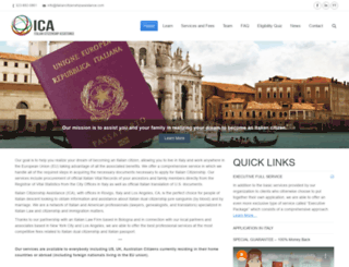 italiancitizenshipassistance.com screenshot
