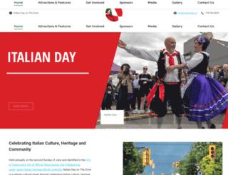 italianday.ca screenshot
