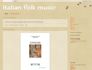 italianfolkmusic.blogspot.com.tr screenshot
