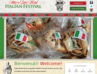 italianfoodfest.org screenshot
