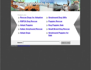 italiangreyhounds.biz screenshot