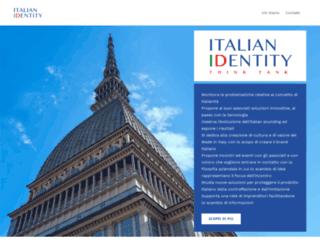 italianidentity.eu screenshot