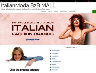 italianmodamall.com screenshot