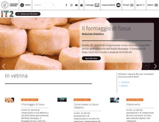 italianoperstranieri.loescher.it screenshot