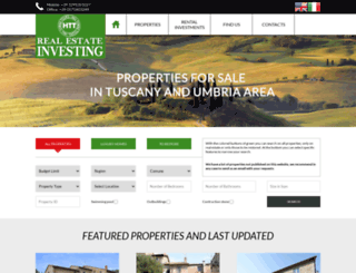 italianproperty.it screenshot