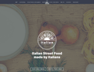 italianstreettreats.dk screenshot