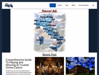 italiantourism.com screenshot