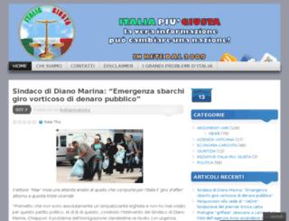 italiapiugiusta.wordpress.com screenshot