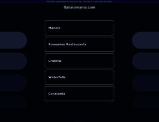italiaromania.com screenshot